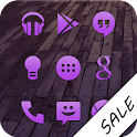 Purple Go Apex Nova Icon Theme icon
