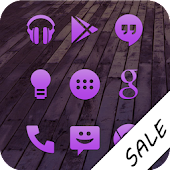 Purple Go Apex Nova Icon Theme
