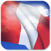 3D Peru Flag