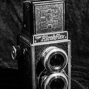 by Jack Raymond - Black & White Objects & Still Life