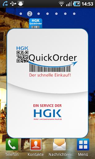 HGK Quickorder