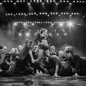 Queen Bee by Flo Yeow - People Musicians & Entertainers ( blackandwhite, concert, flotographysg, queen, bw, bnw, dance, Free, Freedom, Inspire, Inspiring, Inspirational, Emotion,  )