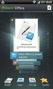 Polaris Office 4.0 - screenshot thumbnail