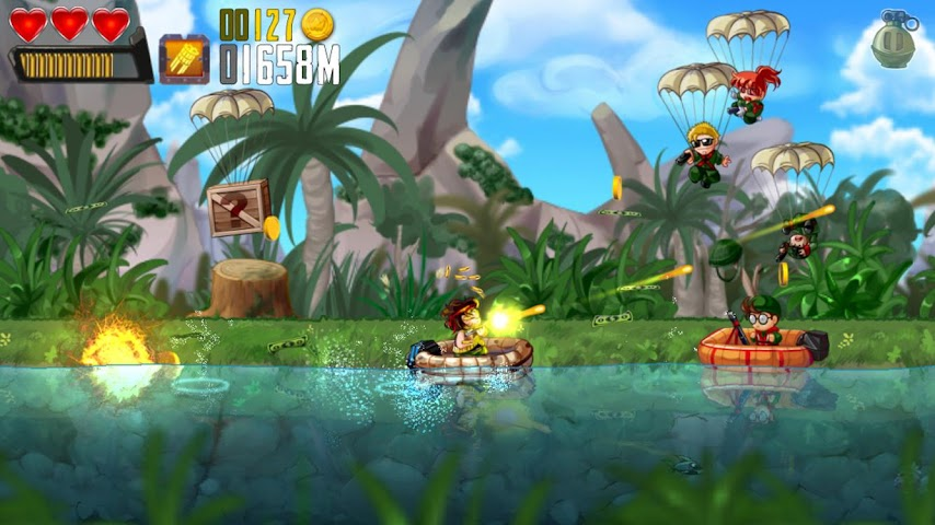 android Ramboat: Shoot and Dash Screenshot 6