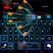 Electric GO Keyboard theme