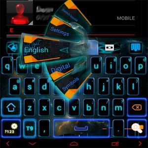 Electric GO Keyboard theme for Android