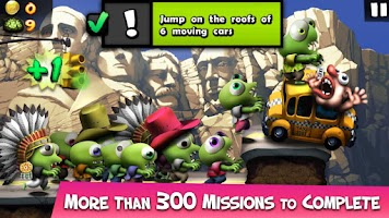 Screenshot of Zombie Tsunami