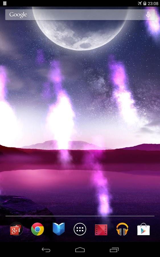 Meteor Live Wallpaper- screenshot