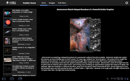 Hubble Space Center- screenshot thumbnail