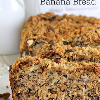 Pecan Coconut Banana Bread