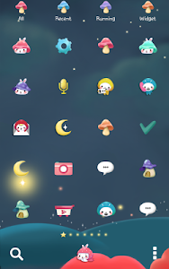 Togun(moon night)Dodol Theme screenshot 2