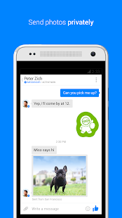 Facebook Messenger - screenshot thumbnail
