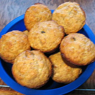 Apple Honey Bran Muffins