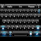 Theme for A.I.type Dusk BBlu א icon