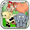 Animal soundboard for children logo