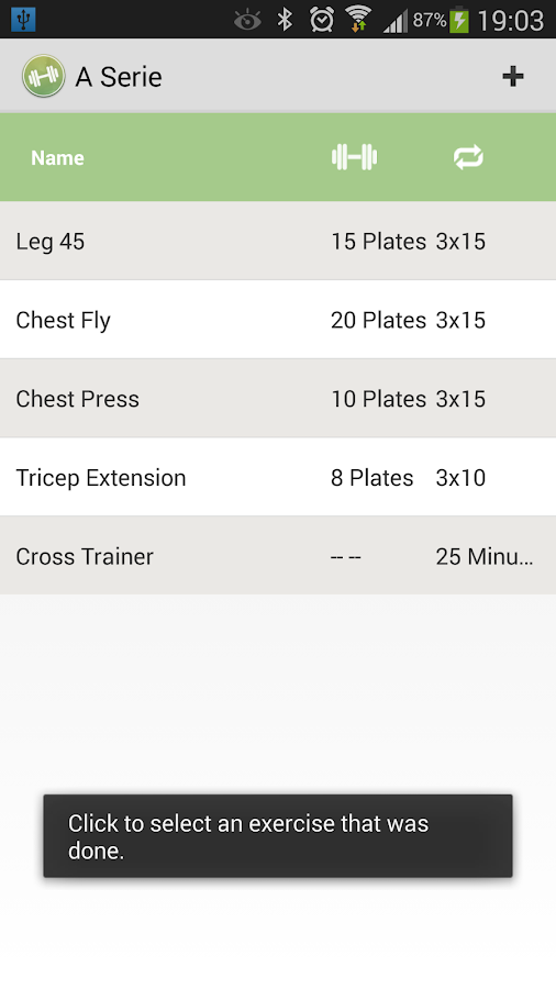 My Gym Training- screenshot