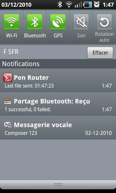Anoto Pen Router - screenshot