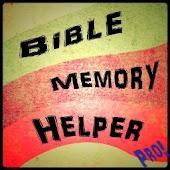 Bible Memory Helper Pro