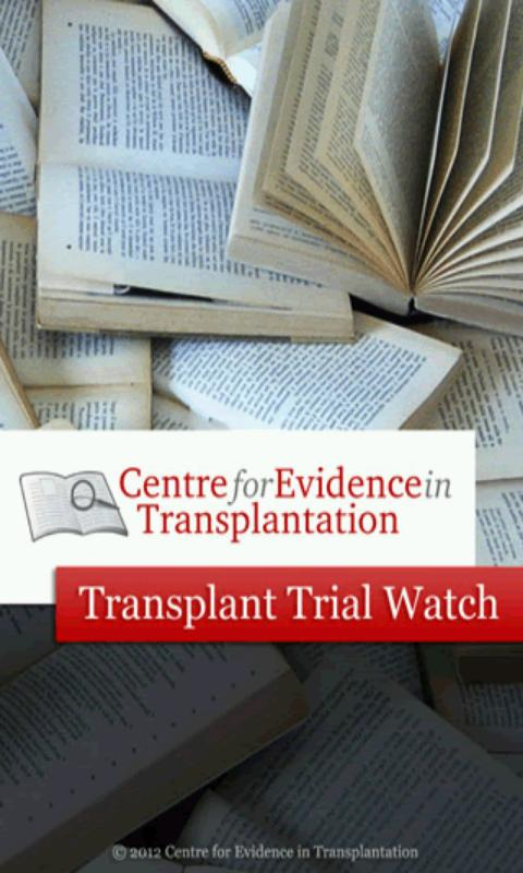 Transplant Trial Watch- screenshot