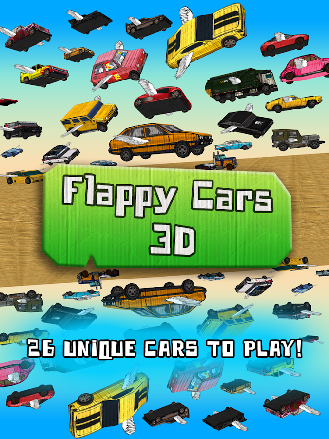 Floppy Cars 3D- screenshot