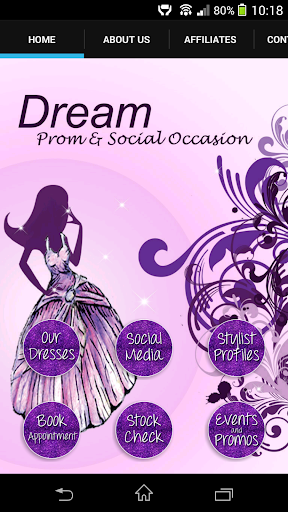 Dream Prom Social Occasion