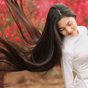 Sping hair by Tuan Anh - People Portraits of Women ( tuananhphoto )