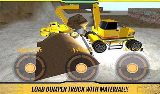 Sand-Excavator-Dump-Truck-Sim 10