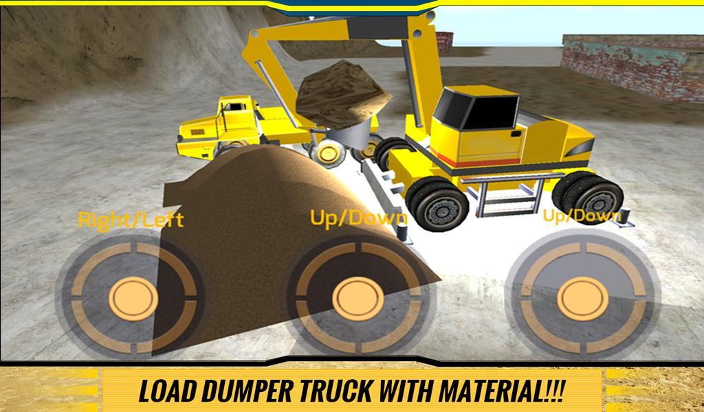 Sand-Excavator-Dump-Truck-Sim 25