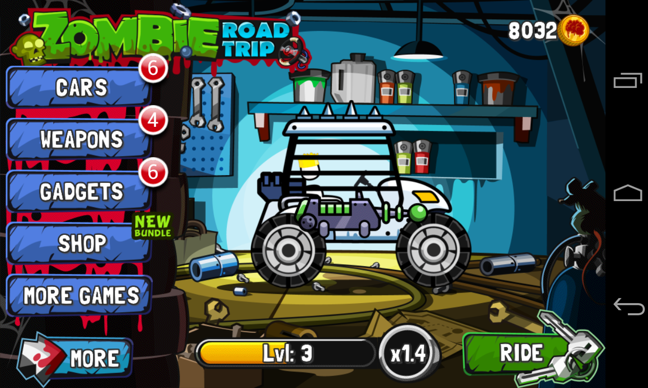 Zombie Road Trip screenshot #2
