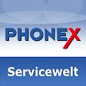 Phonex Servicewelt icon