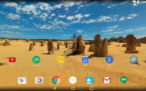 Panorama Wallpaper: Desert