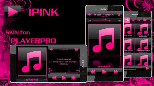 PlayerPro Skin I PINK