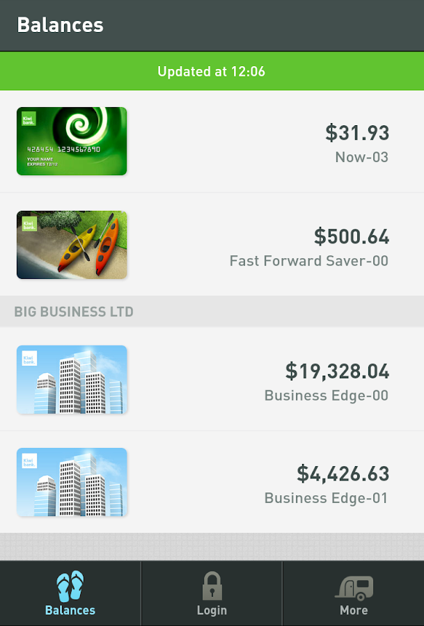Kiwibank Mobile Banking- screenshot