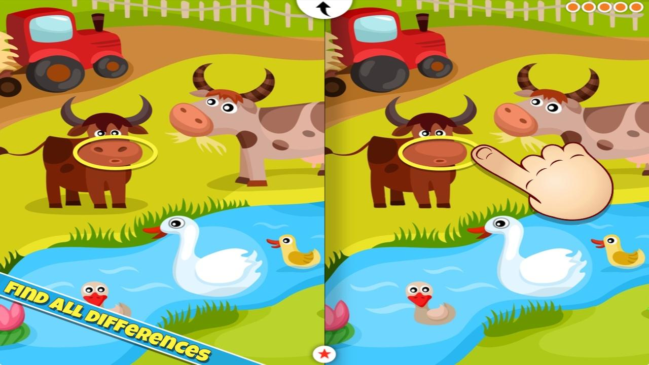Animal Spot The Difference Android Apps On Google Play