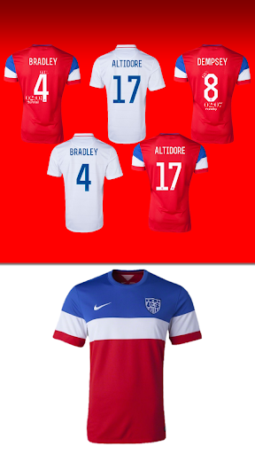 USA 2014 Jersey Pack - uccw