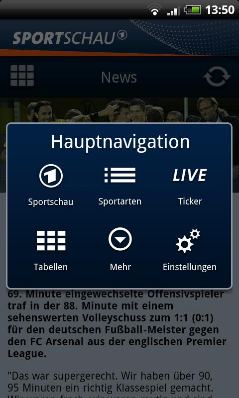 SPORTSCHAU - screenshot