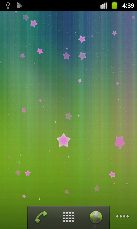 Stars Live Wallpaper - screenshot