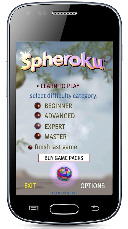 Spheroku™ - 3d color sudoku - screenshot