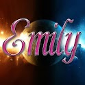 Emily pink sticker Free logo