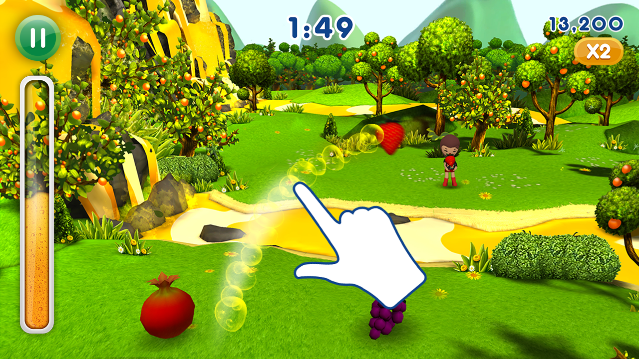 Fanta Fruit Slam 2- screenshot