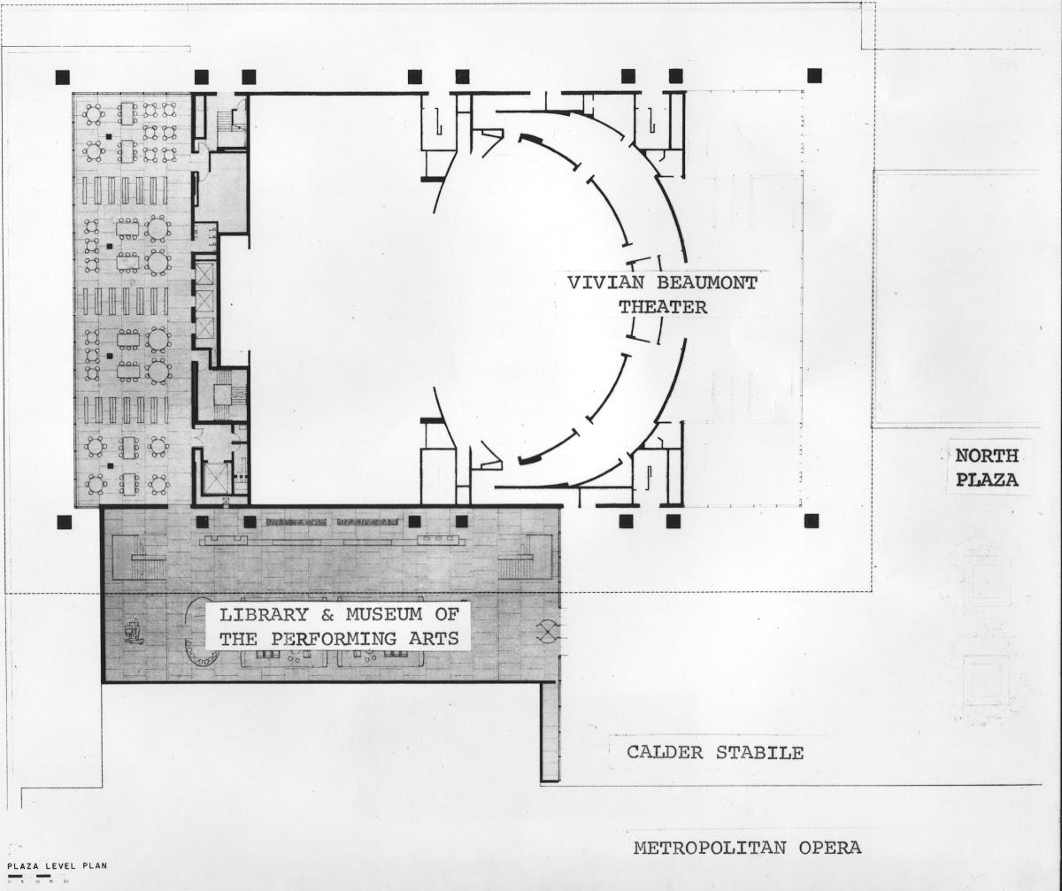 Vivian Beaumont Theater Floor Plan Google Arts Culture