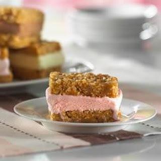 Crunchy Ice Cream Sandwiches.