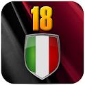 Milan 18 logo