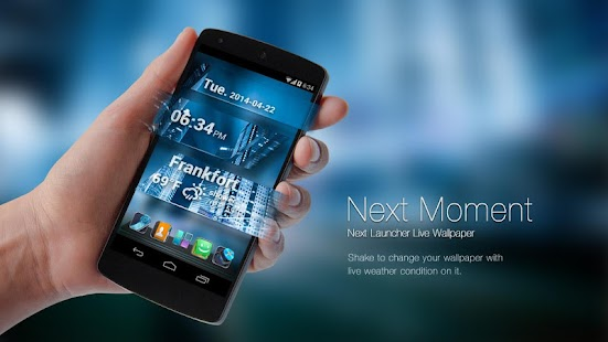 Next Moment Live Wallpaper LWP