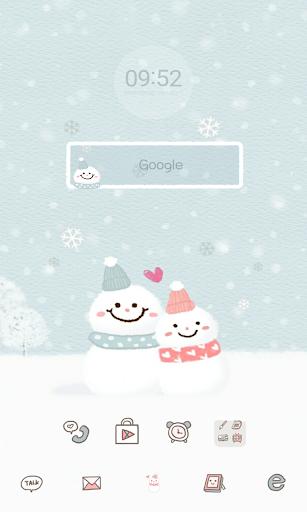 SnowmanCoupleDodolLauncher