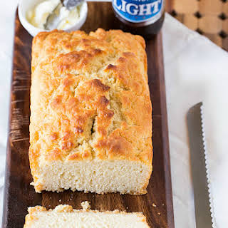 Buttery Honey Beer Bread.
