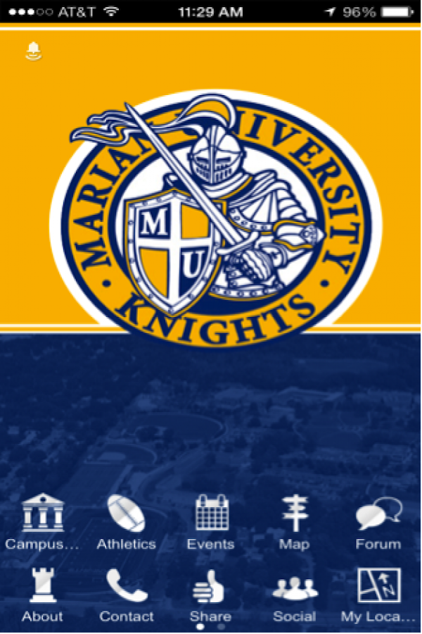 The Mapp @ Marian University - screenshot