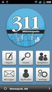 Minneapolis 311 - screenshot thumbnail