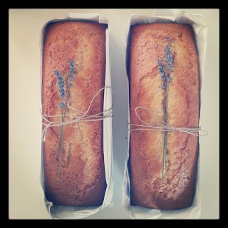 Lavender Cake.