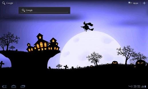 Halloween Live Wallpaper- screenshot thumbnail